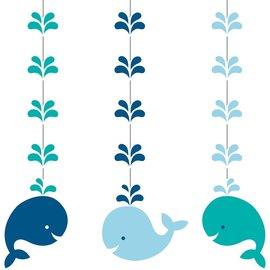 Hanging Cutouts - Lil Spout Blue - 3pcs