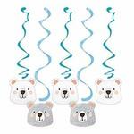 Dizzy Danglers - 1st Birthday Bear - 5pcs