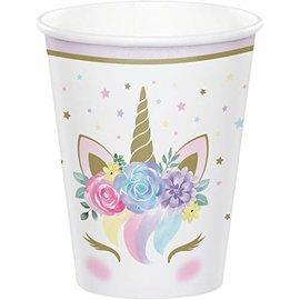 Cups - Paper - Unicorn Baby - 9oz - 8pkg