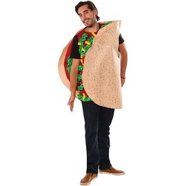 Costume-Fiesta Taco-Adult One Size