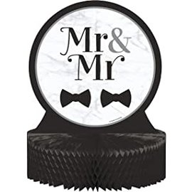 Centerpiece - Mr & Mr Wedding - 9''x12'' - 1pc