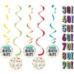 Dizzy Danglers - Birthday Burst - 5pcs