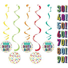 Dizzy Danglers - Birthday Burst - 5pcs