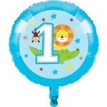 "Foil Balloon - One Is Fun - Boy - 18"""