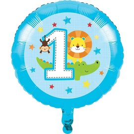 Foil Balloon - One Is Fun - Boy - 18""
