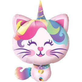 Foil Balloon - Caticorn - 38""