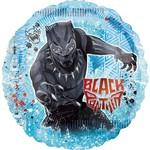 "Foil Balloon - Supershape - Black Panther - 28"""