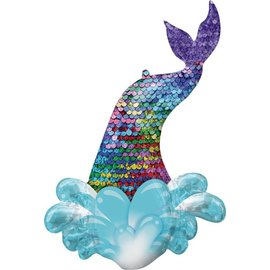 Foil Balloon - Mermaid Sequin Tail - 39''