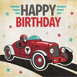 Napkins - BV - Vintage Race Car - 16pkg - 2ply