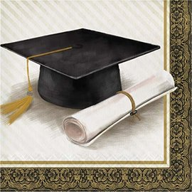 Napkins - LN -  Classic Graduation - 16pkg - 2ply