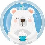 Plates - BV - 1st Birthday - 7'' - 8pkg
