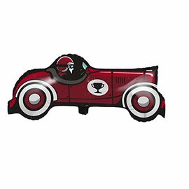 Foil Balloon - Vintage Race Car - 33''x16'' - 1pc