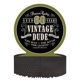 Centerpiece - Vintage Dude ''60'' - 9''x11.75'' - 1pc