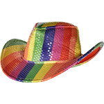 Cowboy Hat - Stripped Multicolor - 1pc