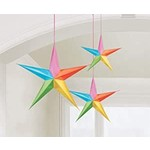 Hanging Decorations-Multi-colored Stars