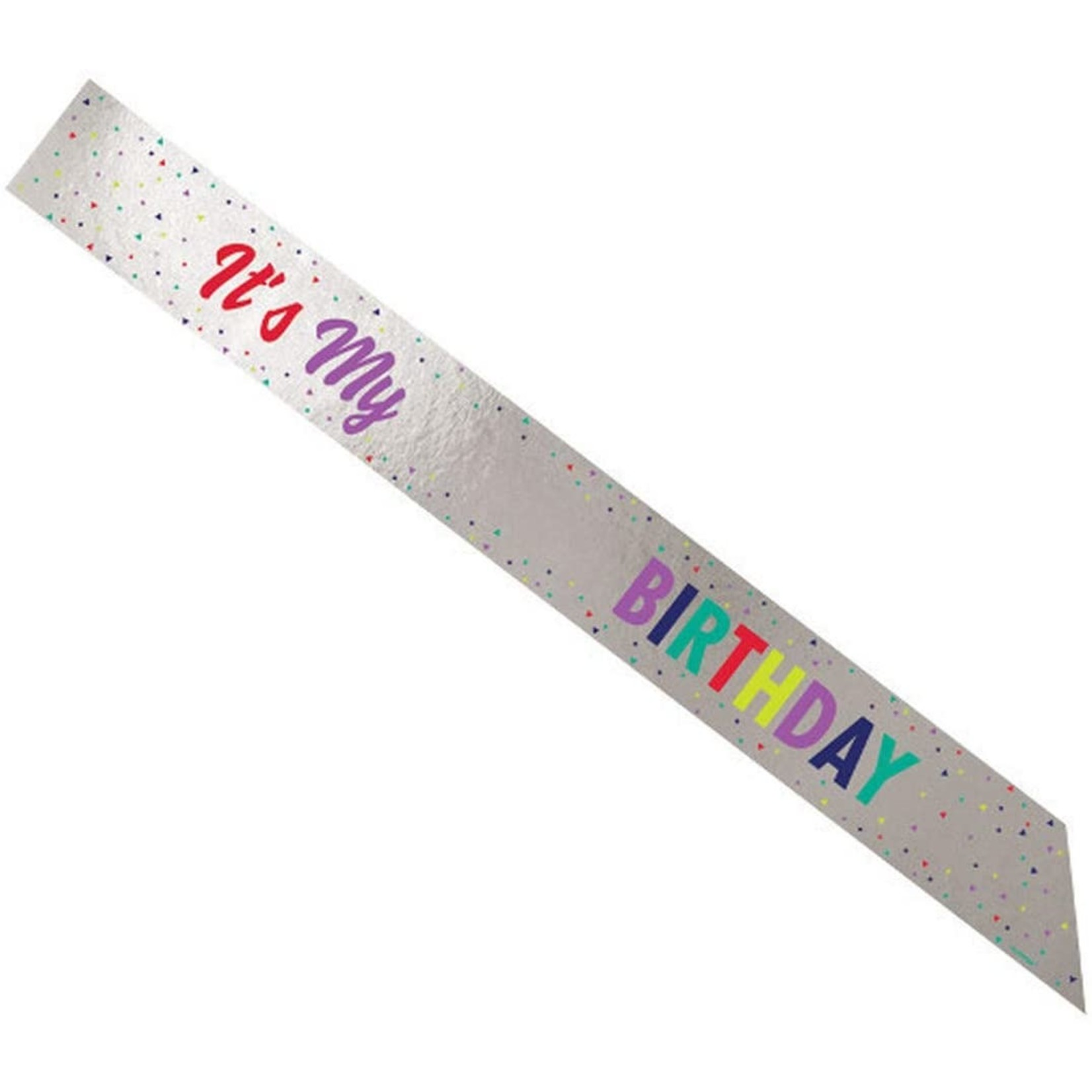 Add-Any-Age-Birthday Sash-1pc