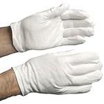 Clown gloves - White