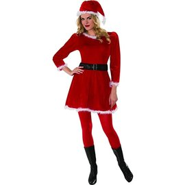 Adult Costume - Mrs. Claus - Small Size