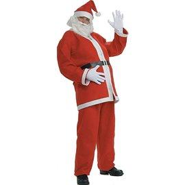 Flannel Santa Suit - Standard Size - 1pkg