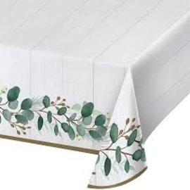Tablecover - Eucalyptus Green - 54''x102'' - 1pc