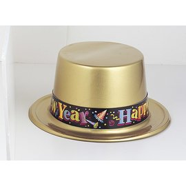 New Year Top Hat Plastic