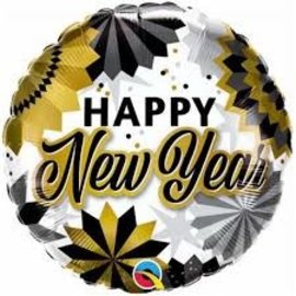 Foil Balloon - Happy New Year - 18''
