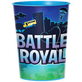 Fortnite/Battle Royal Plastic Cups-16oz
