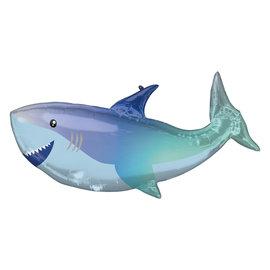 Foil balloon - Supershape -  Shark - 38''