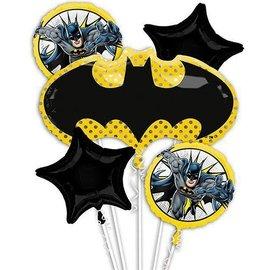 Foil Balloon Bouquet - Batman - 5pkg