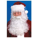 Santa - Hair Wig & Beard set - (2 Eyebros included)