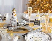 New Years Tableware