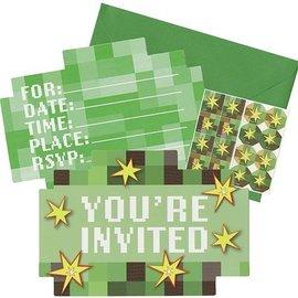 Invitations-TNT Party!-8pk