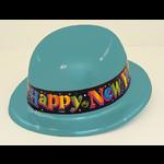 New Year Bowler Hat Plastic