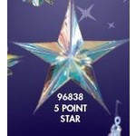 "Star - Crystal Shimmer - 24"" - 1pc"