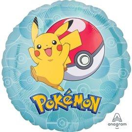 "Foil Balloon- Pokemon- 18"""