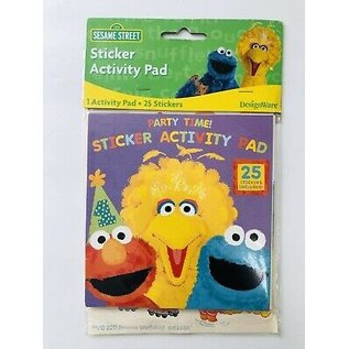 Activity Pad-Stickers-Elmo