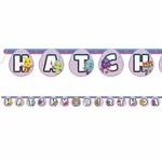 Banner- Hatchy Birthday- 6.5ft
