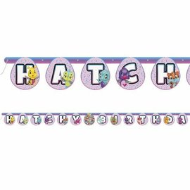 Banner- Hatchy Birthday- 6.5ft