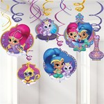 Swirl Decorations - Shimmer and Shine