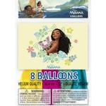 """Balloons-Latex-Moana-12""""(8PK)"""