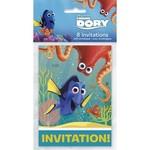 Finding Dory Invitations 8pk