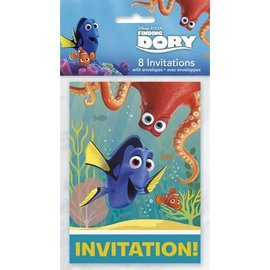 Finding Dory Invitations 8pk