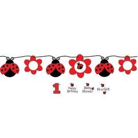 Banner-Ribbon-Customizable-Ladybug Fancy-1pkg-5.5ft