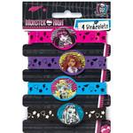 Bracelets-Monster High-4pk