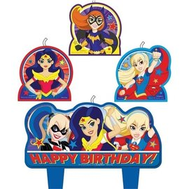 Birthday Candles - DC Superhero Girls