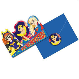 Invitations - DC Superhero Girls