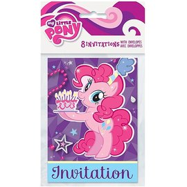 Invitations-My Little Pony-8pk