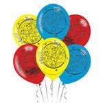"Balloons - Latex - DC Superhero Girls - 12"" - 6pc"