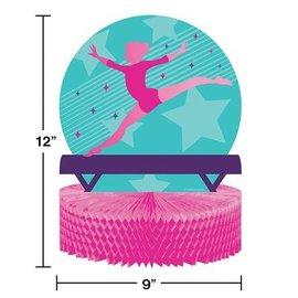 "Centerpiece - Gymnastics Party - 9"" x 12"" - 1pc"