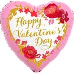 Foil Balloon - Happy Valentine's Day - 17''